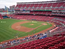 Reds Seating Chart Mezzanine Great American Ball Park Section 413 Seat Views Seatgeek