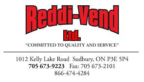 Vending Machines Ontario Amazing ReddiVend Ltd Sudbury ON Vending Machines Canodex
