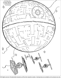Star Wars Coloring Picture Ship Page Chronicles Network