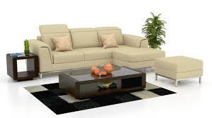 Loretta - Leatherette Sectional Sofa