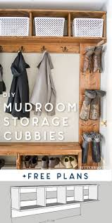 Mudroom Cubby Design Mudroom Storage Cubbies Free Plans Ugly Duckling House