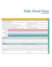 Daily Mood Chart Template 13 Daily Chart Templates In Google Docs Word Pages