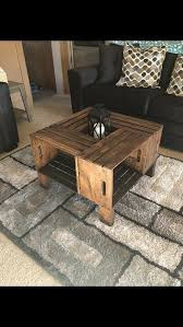 crate coffee table wild country fine arts