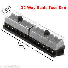 mini fuse block universal car truck boat 12 way 12v standard blade block fuse box holder circuit fits