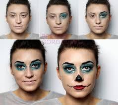 skelita calaveras monster high makeup tutorial for