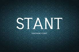 Impact is a trademark of stephenson blake (holdings) ltd. Stant Font By Maxim 90 Ivanov Creative Fabrica