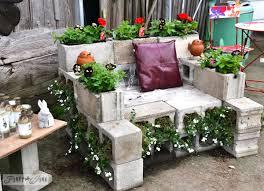 concrete block furniture ideas. Furniture: Successful Cinder Block Furniture Backyard DIY We Built Outdoor Benches And A Firepit For Concrete Ideas L