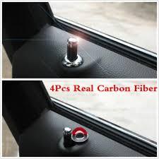 car door lock knob. 4Pcs Carbon Fiber Interior Dash Door Lock Knob Pins For Auto Car Truck Universal