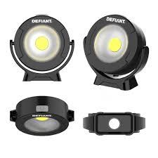 Defiant Stick On Light Defiant 360 Degree Pivoting Led Light 2 Pack 16fl0706