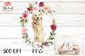 The pet collective is home to the top trending clips. Golden Retriever Clipart Watercolor Graphic By Sublimation Hut Creative Fabrica