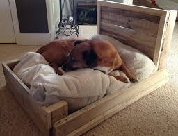 wood dog bed furniture. My Diy Dog Pallet Bed Completed. | Completed Projects Pinterest Beds, Pallets And Beds Wood Furniture D