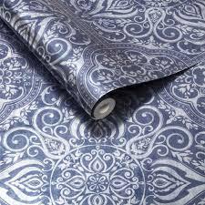 Behang Trendy Behang Gekleurd Behang Felkleurig Donker