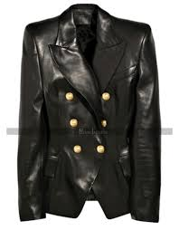 kim kardashian balmain black leather jacket