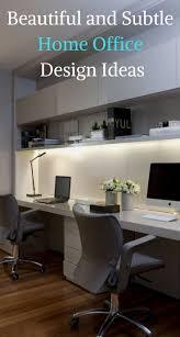 minimal office design. beautiful and subtle home office design ideas minimal