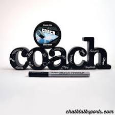 autographable coach wood word chalktalksports