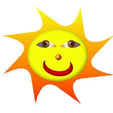 Afbeeldingsresultaat voor zon in augustus