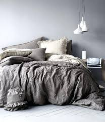 grey duvet cover nz solid grey duvet cover queen duvet cover set in washed linen hmhome
