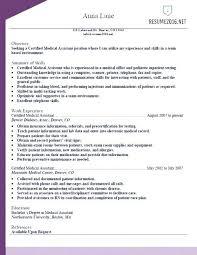 Medical Resume Templates – Armni.co
