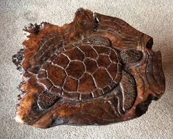 sea turtle coffee table table top