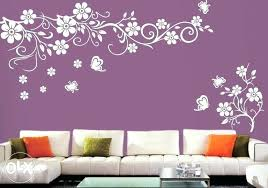 wall painting stencils for living room trend paint designs ideas stencil colors kitchen