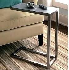 artistic c tables for sofas c8028914 shaped end table modern shape models intended a2