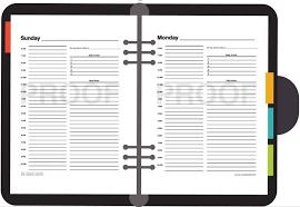 Blank Schedule Daily Schedule Blank Calendar Downloadable Printable