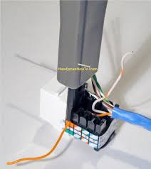 poin ethernet wall jack wiring wiring diagram libraries how to install an ethernet jack for a home network poin ethernet wall