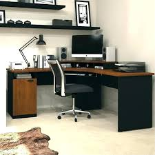 wooden home office. Corner Computer Desk Uk Wooden Desks For Home Office Wood In Oak