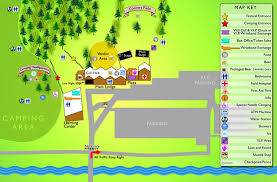 the mountain jam the festival site map is in