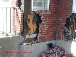 brick veneer exterior wall loose or ed brick building walls diagnosis repair guide install brick veneer brick veneer exterior wall