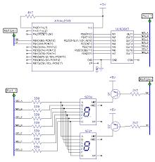 7 segment multiplexing uln2003 pnp transistors code and life update transistor