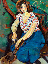 at the turn of the twentieth century before becoming a respected painter herself suzan valadon was an artist s model in paris s montmartre neighborhood