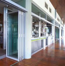 commercial exterior folding door aluminum sliding doors commercial