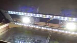 led lighting diy. DIY Aquarium LED Lighting Led Chip 20W + RGB Strip Diy