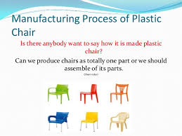 7. Manufacturing Process of Plastic Chair ...