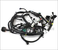 new oem 6 0l v8 engine wire harness ford e350 econoline e450 4c2z new oem 6 0l v8 engine wire harness