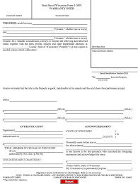 Warranty Deed Template - Free Template Download,customize And Print
