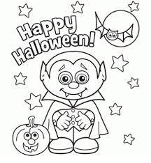 Cute Halloween Coloring Pages For Kids Cute Halloween Coloring Pages Free