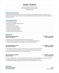 Sample Word Document Templates Sales Resume Template Word Sales Associate Resume Template 8 Free