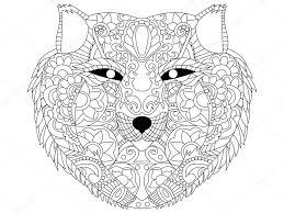 20 Idee Mandala Kleurplaten Voor Volwassenen Wolf Win Charles