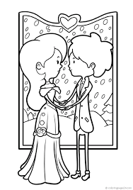 Matrimoni 30 Disegni Da Colorare 24
