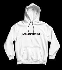Ras.optimist hoodie - wit