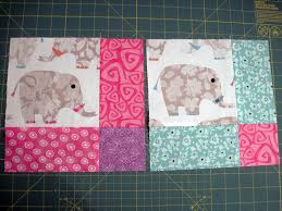 Baby Block Quilt Patterns Impressive Elephant Baby Quilt The Pattern And Progress Sara Victorious