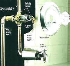 repair leaking shower valve replacing shower valve replace single handle repair faucet image bathroom fix stem