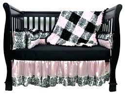 demask baby bedding damask crib bedding set pink and black damask nursery bedding designs damask crib