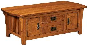 craftsman cabinet coffee table for 860