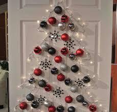 Shiny christmas ball tree