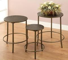 astonishing round metal accent table wallowaoregon ideal and stylish regarding metal accent table