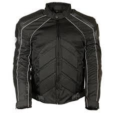 combo noir blindé en cuir textile maille veste de noir des hommes xelement