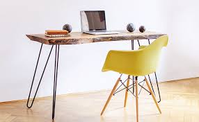 office wood table. View In Gallery Rustic Wood Table By Our Hood Office